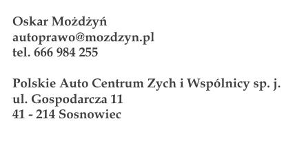 dane kontaktowe_autoprawo
